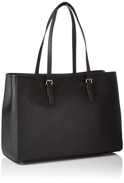 c04e5b3b1723e Michael Kors Womens Jet Set Travel Tote Black  Amazon.co.uk  Shoes   Bags