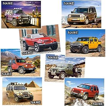 1 Stück: Mini Puzzle / Minipuzzle 54 Teile - inkl. Name - Autos ...