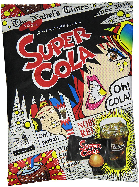 Nobel Super Cola Candy 3.1oz (12 Pack) by Nobel® (Image #1)