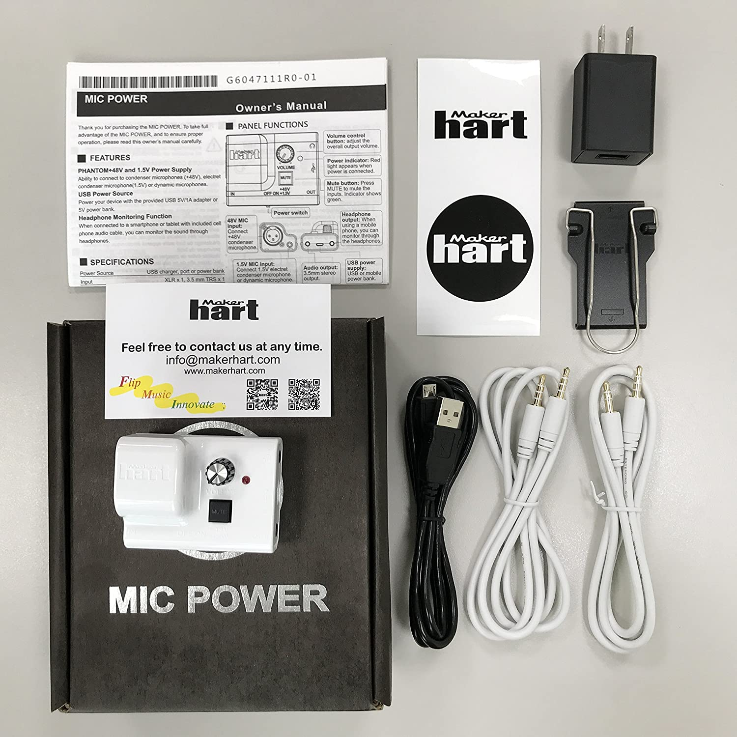 Maker Hart Just Mic Power Mini Preamp For Providing Ecm Preamplifier By Bc549 Phantom To Condenser And Electret Microphones Xlr 1 8 Input Output