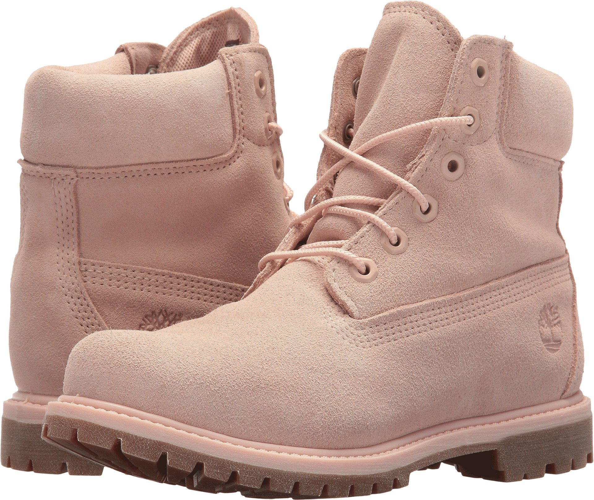 Timberland Womens 6'' Premium Boot Camo Rose Suede 11 B - Medium