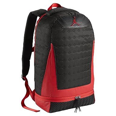 324e8ce2b0 Nike, Sac à Dos Enfant Homme Noir Black/Gym Red Taille Unique: Amazon.fr:  Vêtements et accessoires