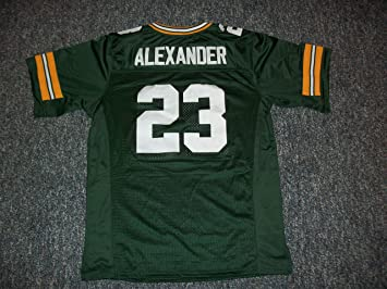 new product cde1b 4bc3e Amazon.com : Jaire Alexander Unsigned Custom Sewn Green Bay ...