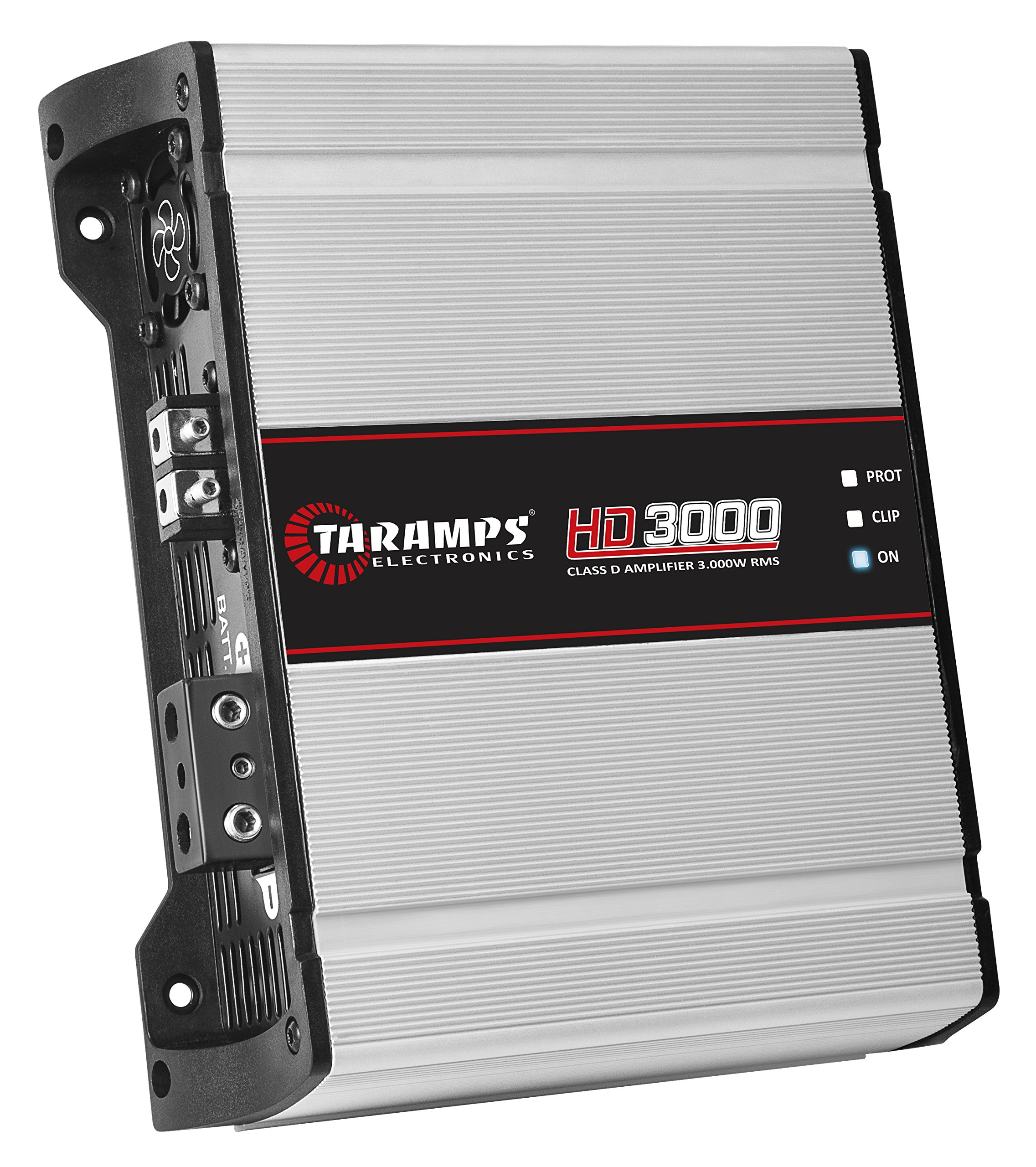Taramp HD3000-1 Very High Power One Ohm Stable Single Channel Car Audio Amplifier