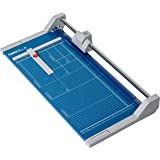 """Dahle 552 Professional Rolling Trimmer, 20"""" Cut Length, 20 Sheet Capacity, Self-Sharpening, Automatic Clamp, German Engineered Cutter"""