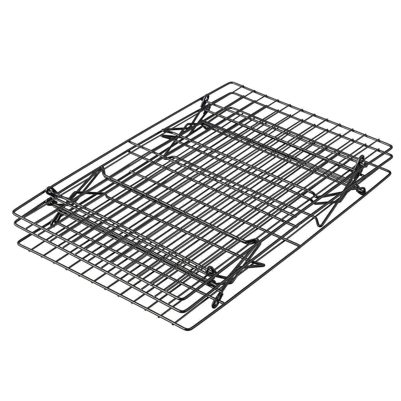 40.4 x 25.1cm Excelle Elite Non Stick Wilton 3-Tier Cooling Rack 15.9 x 9.9in