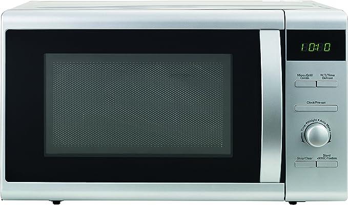 MIKROWELLE 800W Kombi Microwelle 20L 5 Stufen Auftau-Automatik Aufwärmen weiß