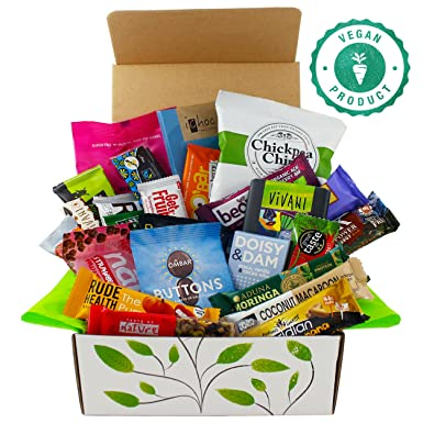 Vegan chocolate and snack hamper gift box large amazon grocery vegan chocolate and snack hamper gift box large negle
