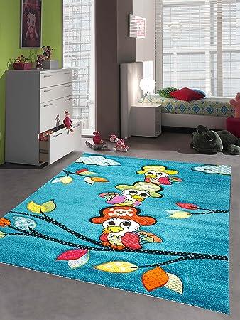Teppich kinderzimmer jungen  Kinderteppich Spielteppich Kinderzimmer Mädchen und Jungen Teppich ...