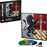 Image for LEGO Art Harry Potter Hogwarts Crests 31201 Building Kit; Perfect for Adults Who Love Hobbies and Collectibles, New 2021…