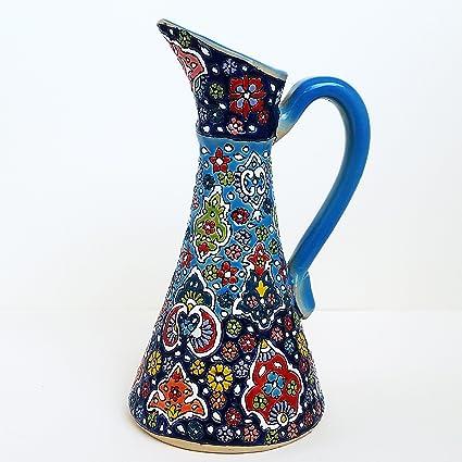 Amazon ArioCraft Handmade Decorative Ceramic Pitcher Pottery Beauteous Decorative Ceramic Pitchers