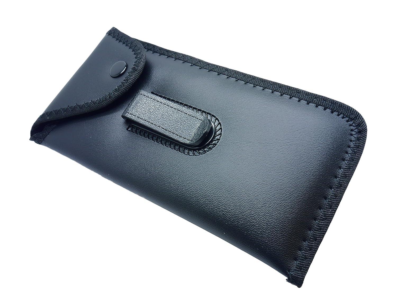 Black Belt Hook Clip Glasses Spectacle Mobile Phone Pen Pencil Case Pouch