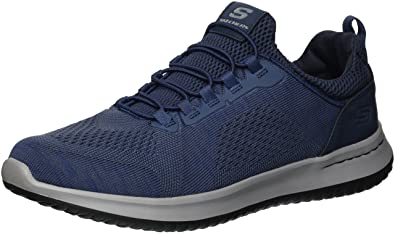 3c872be765a Skechers USA Men's Men's Relaxed Fit-delson-Brewton Sneaker: Amazon ...