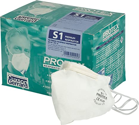 20 Mask Respiratory Of Protex S3 Pack