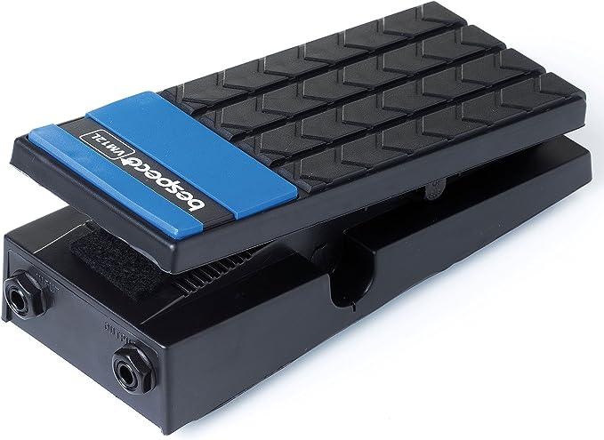 Bespeco VM12L - Pedal de volumen mono para piano, color negro