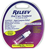 RELEEV Oral Care Treatment 0.10 oz (Pack of 3)
