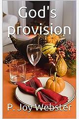 God's provision Kindle Edition