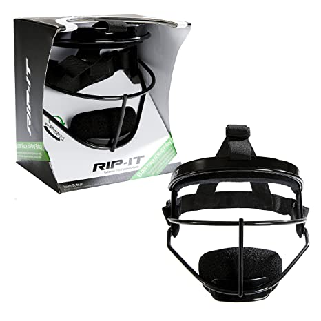 RIP-IT Defense Pro – The Ultimate Softball Fielder s Mask – Lightweight  Protection with Uninhibited 2536cc0a89