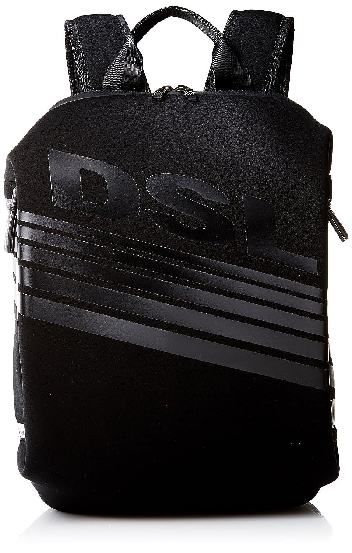 (ディーゼル) DIESEL SUBTORYAL DSL F-SUBTORYAL BACK backpack X05193P0179 B0752GQ8LVブラック UNI (Free)