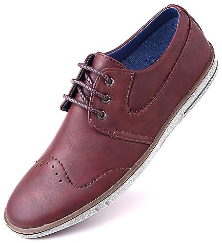Amazon Com Mio Marino Mens Dress Shoes Fashion Casual Oxford
