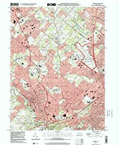 YellowMaps Ambler PA topo map, 1:24000 Scale, 7.5 X 7.5 Minute, Historical, 1999, Updated 2001, 27 x 22 in