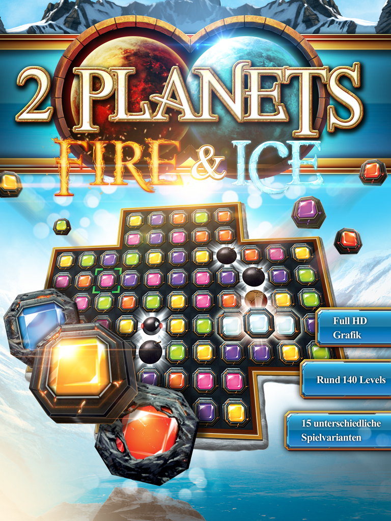 Amazon com: 2 Planets Fire & Ice [Online Game Code]: Video Games