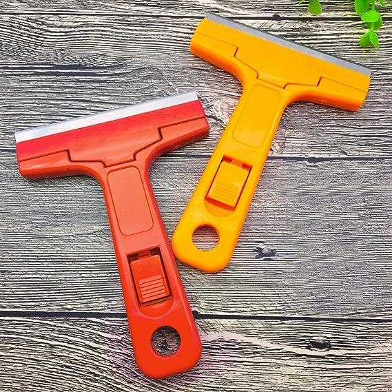 Quality Jewel metal razor blade Window Glass paint scraper 5 Blades made in USA
