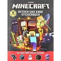 Minecraft, Nether und Ende - Stickerbuch: mit über 500 coolen Stickern