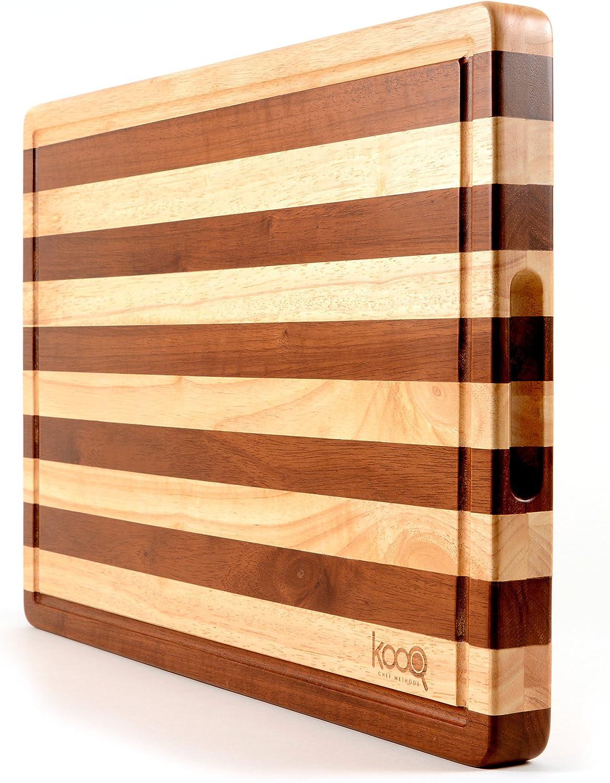 Portable Butcher Block Cutting Board
