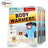 [12 Pack] Back & Body Warmer Heat Patches for Maximum Warmth in Winter & Increased Blood Circulation