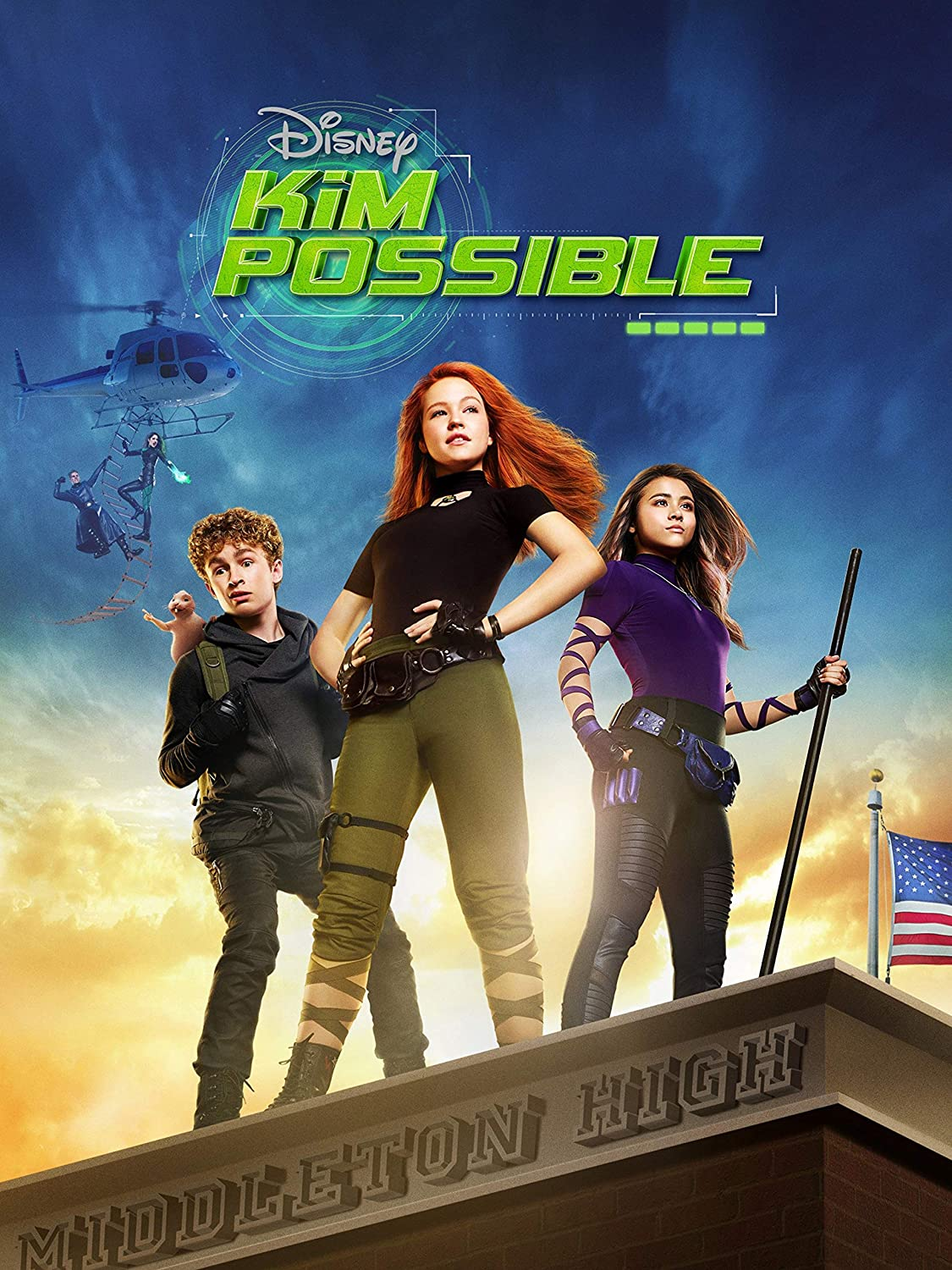 Kim Possible TV Series Poster Glossy Finish TVS817 Posters USA