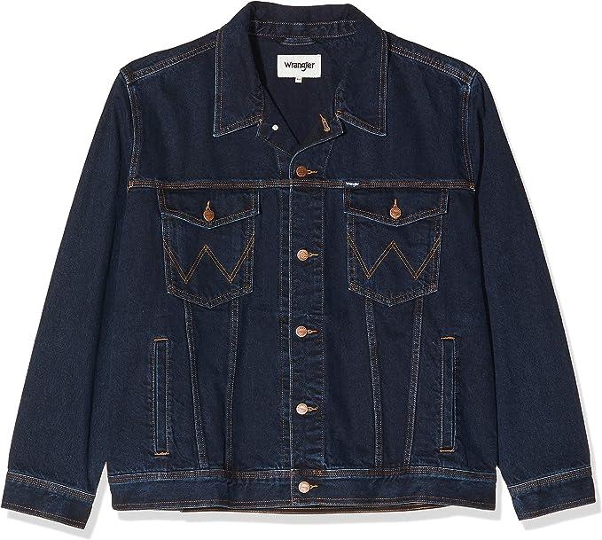 wrangler jeans jacke dunkelblau grösse l neu