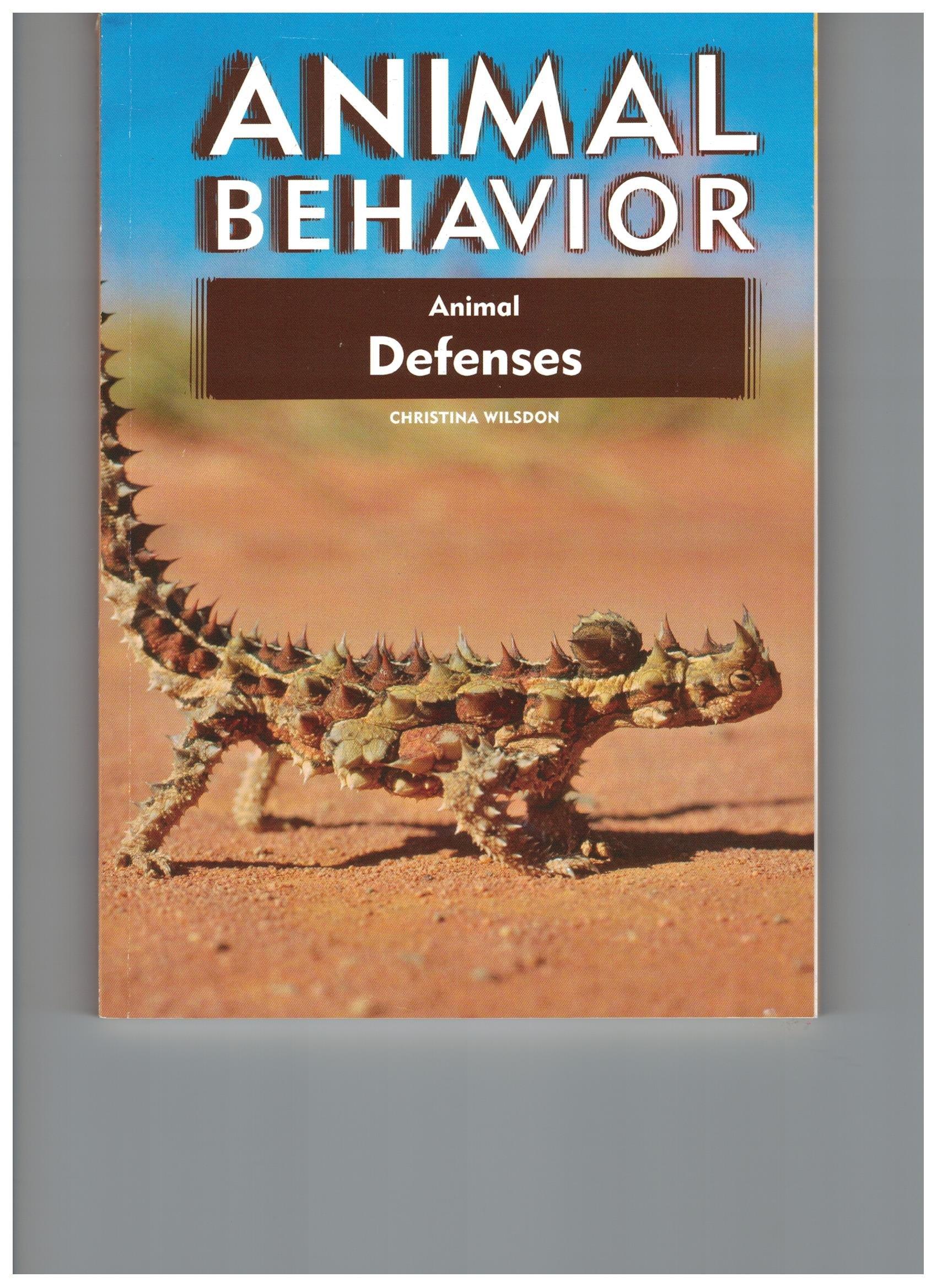 Animal Defenses (Animal Behavior) by Chelsea House Pub