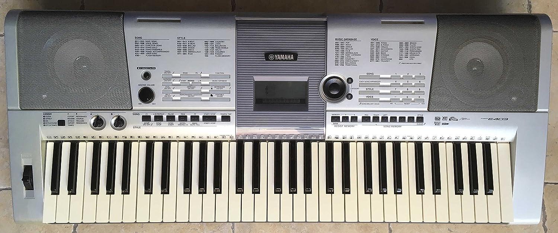 Electrónica teclado Yamaha PSR-E403 utilizada: Amazon.es ...