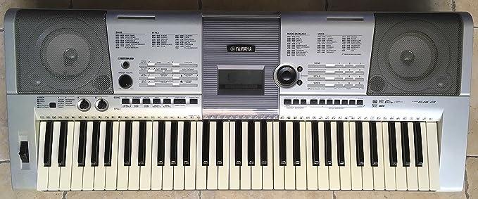 Electrónica teclado Yamaha PSR-E403 utilizada : Amazon.es ...