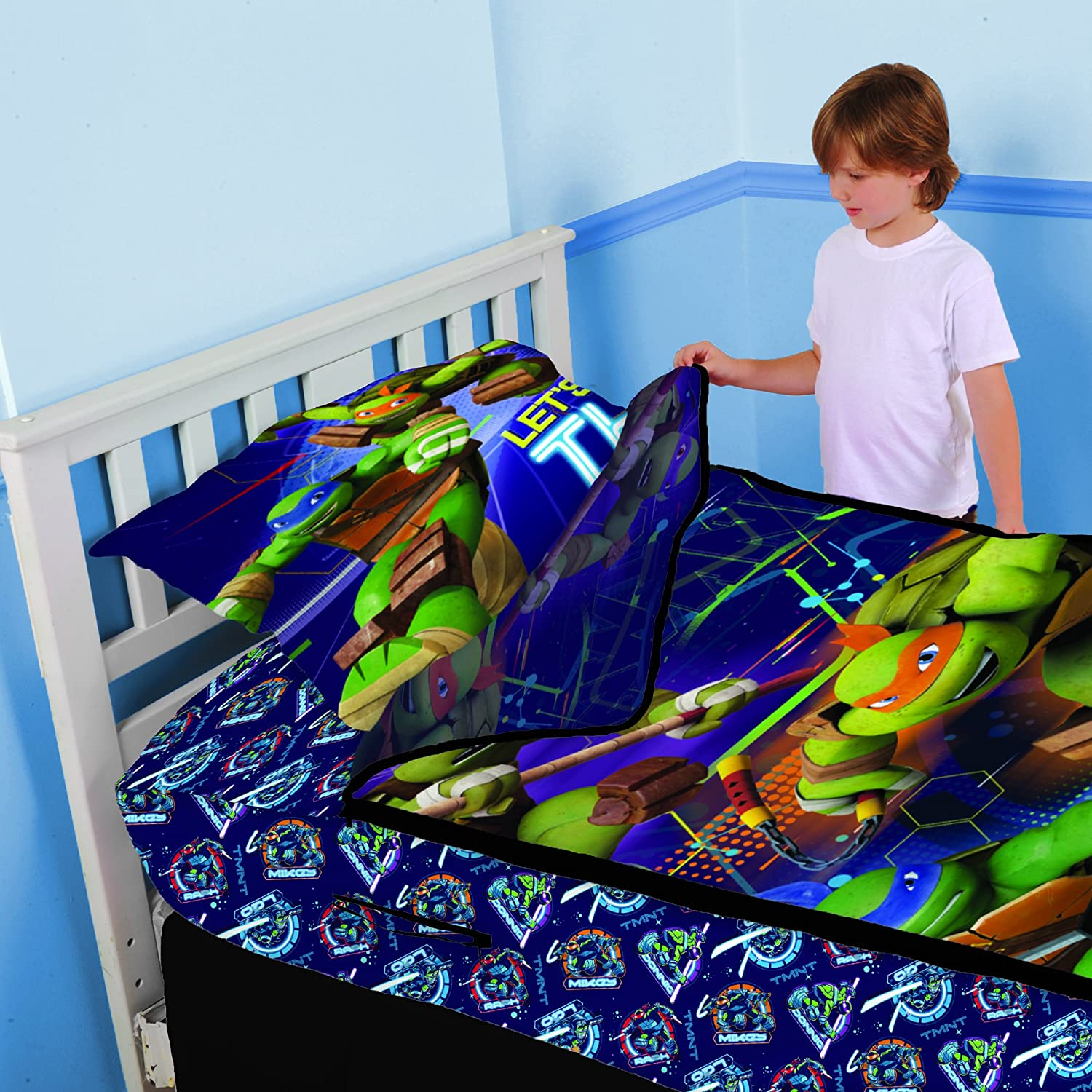 Nickelodeon MY0118 Teenage Mutant Ninja Turtles Primetime Zip-It Bedding