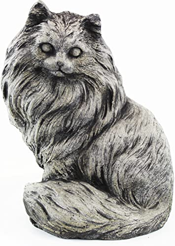 Chester Cat Statue Home and Garden Statues Concrete Outdoor Statuary