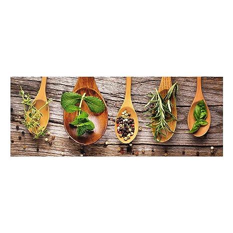 Bilderwelten Glasbild Wandbild Glas Kunstdruck Frucht Cocktail 40 cm x 60 cm