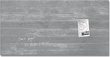 B-Ware Sigel 78x48 Glas Magnetboard GL130 Pinnwand Magnet Tafel Magnetboard