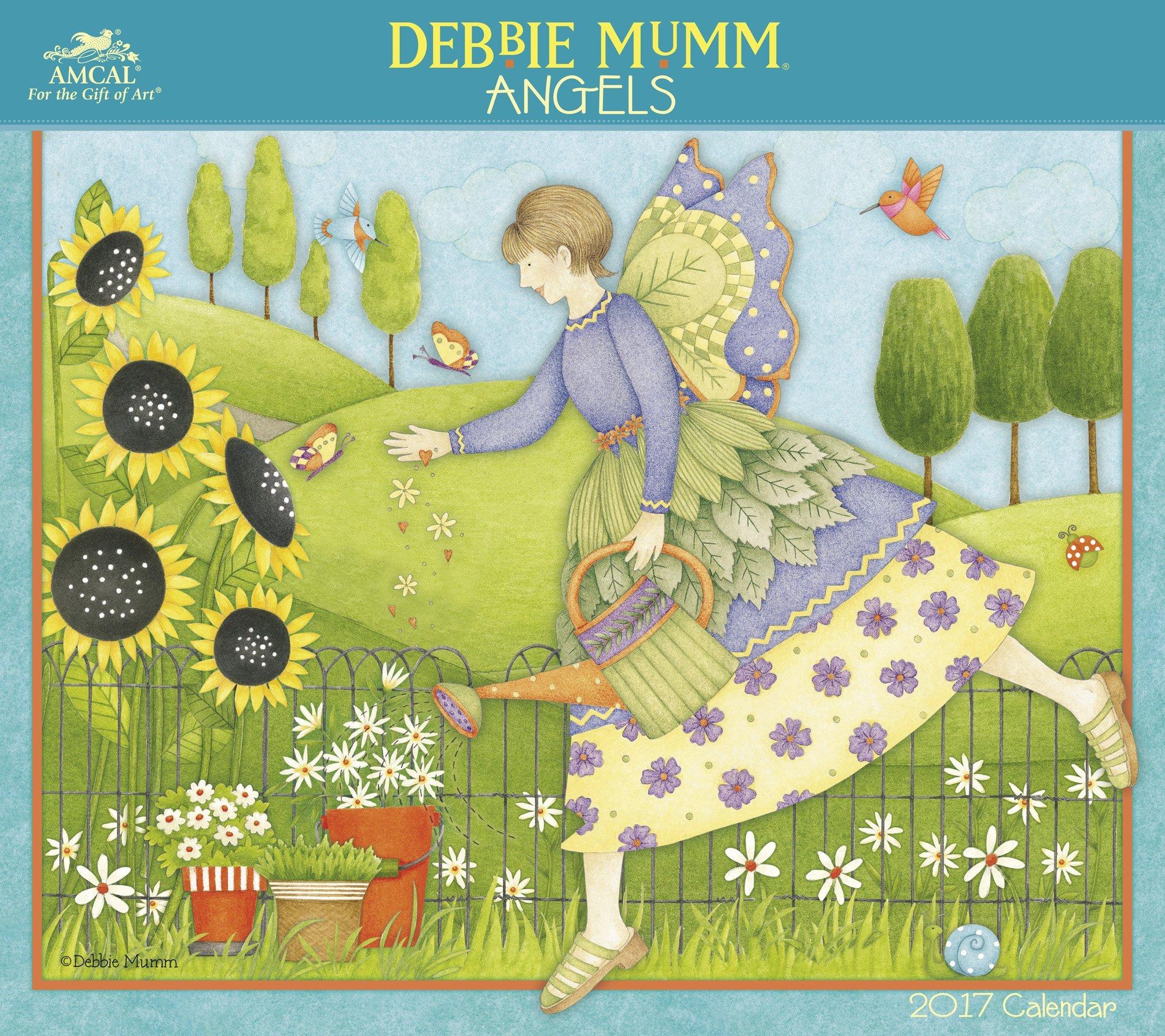 Debbie Mumm - Angels Wall Calendar (2017): AMCAL: 9781629057477 ...