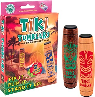 product image for Channel Craft Tiki Tumblers Box Set of 2 Tumblers