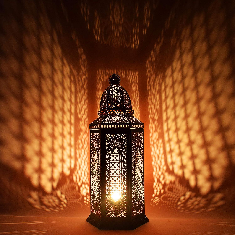 Orientalische Grosse Xxl Stehlampe Lampe Yagmur 75cm Schwarz E27