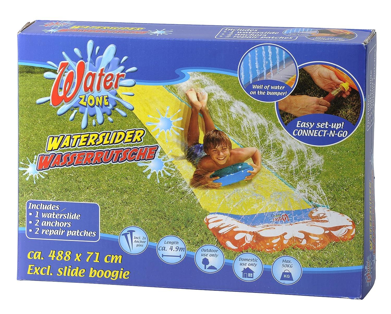1 x Wasserrutsche Wasserbahn Wasserrutschbahn Pool 4,88 x 0,71 m Rutsche Diverse