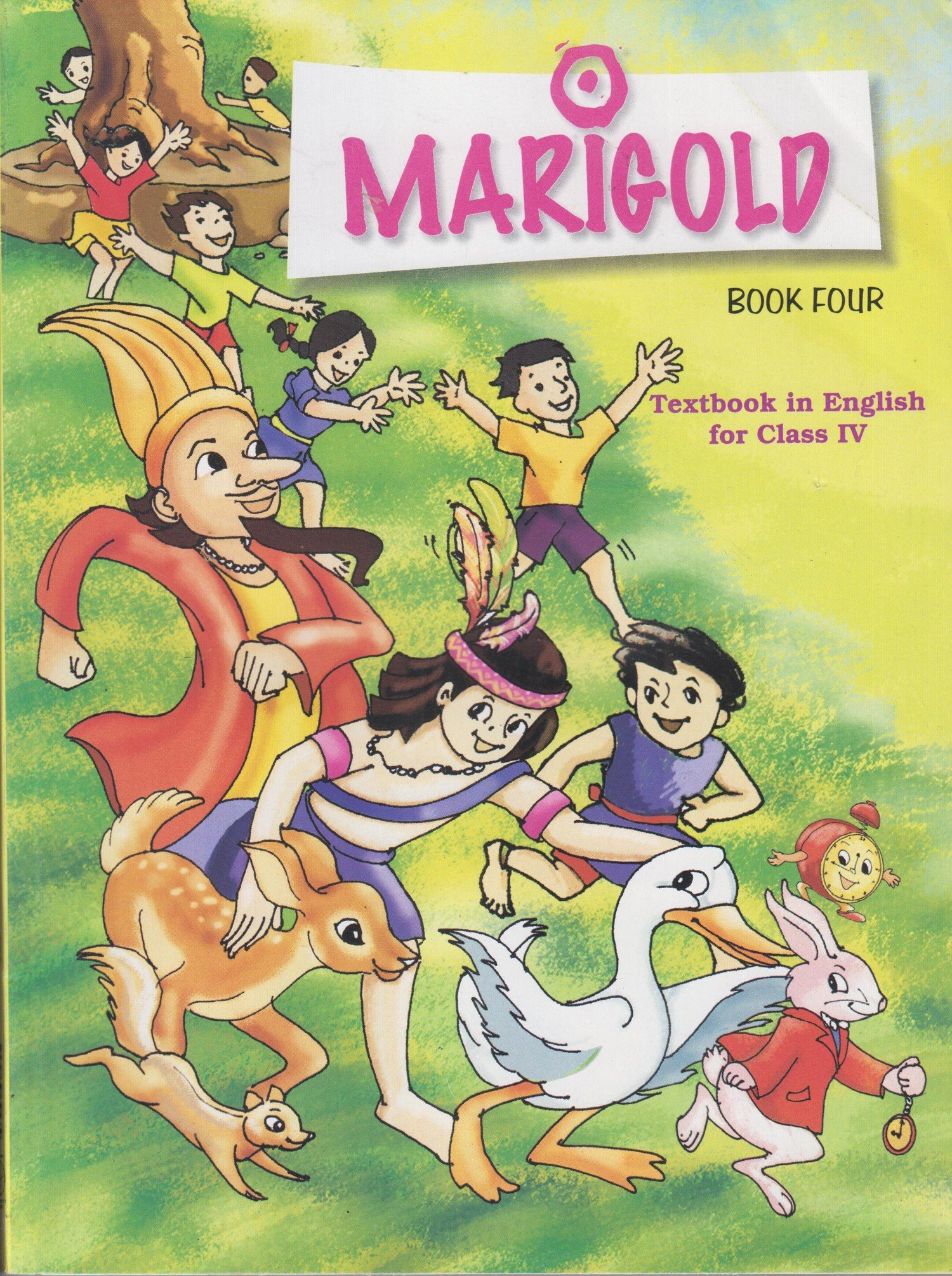 marigold textbook in english for class 4 424 amazon in ncert