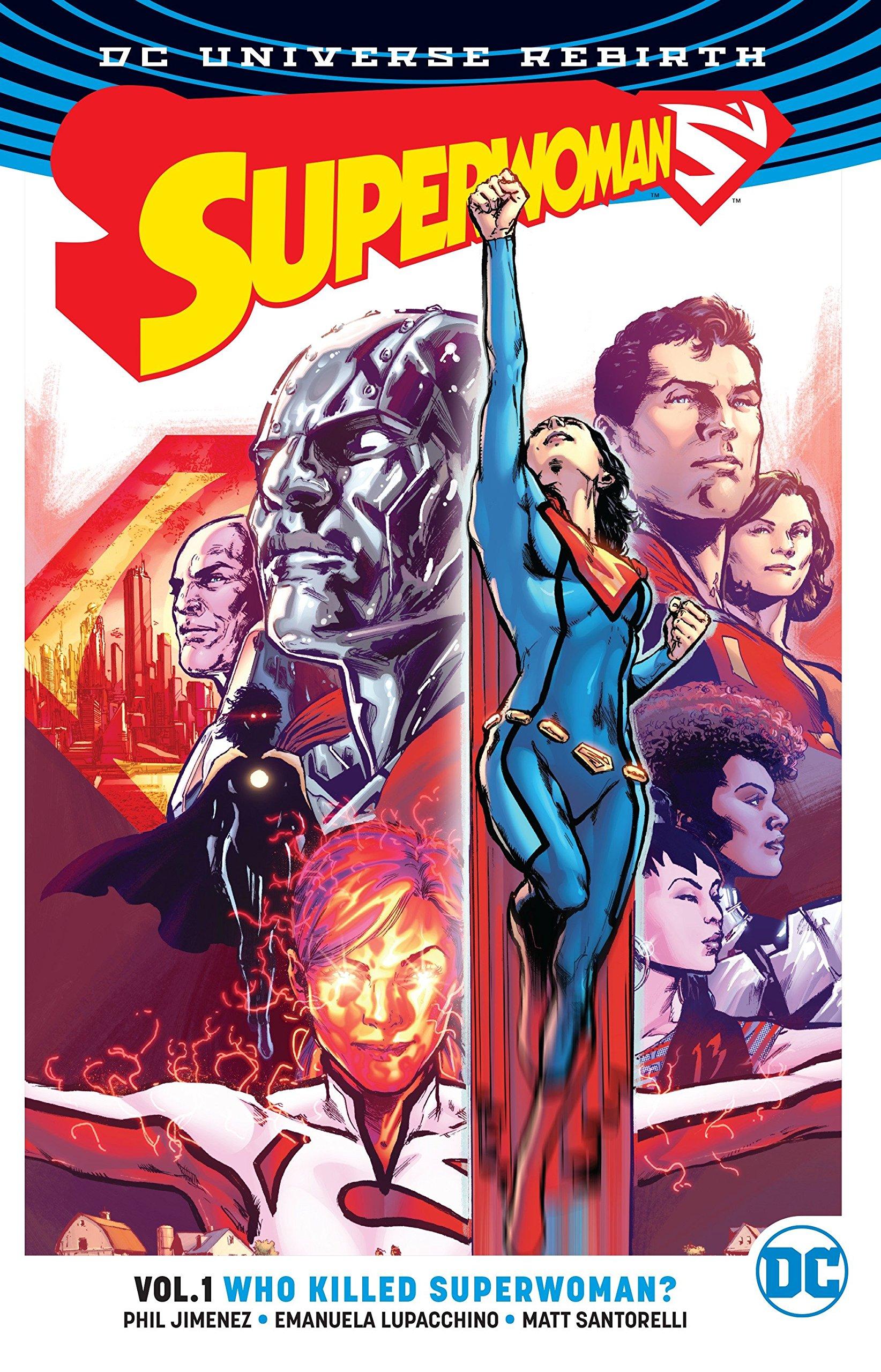 Read Online Superwoman Vol. 1: Who Killed Superwoman? (Rebirth) pdf