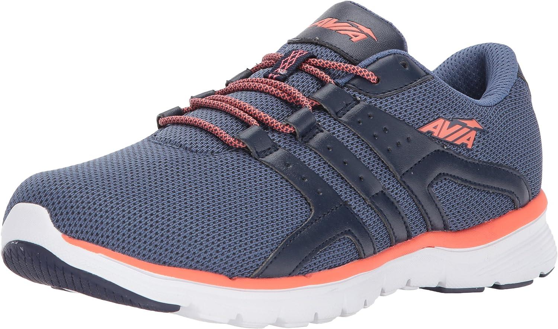 Avia AVI-Mania - Zapatillas para Mujer, Color Negro y Rojo, Color Azul, Talla 36.5 EU: Amazon.es: Zapatos y complementos