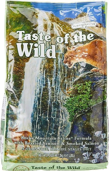 Taste of the Wild Rocky Mountain Comida para Gatos - 2000 gr ...