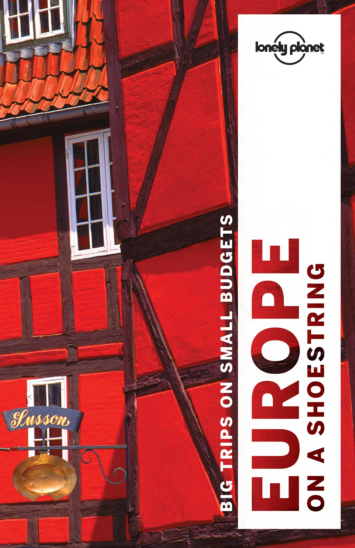 Lonely Planet Europe shoestring Travel