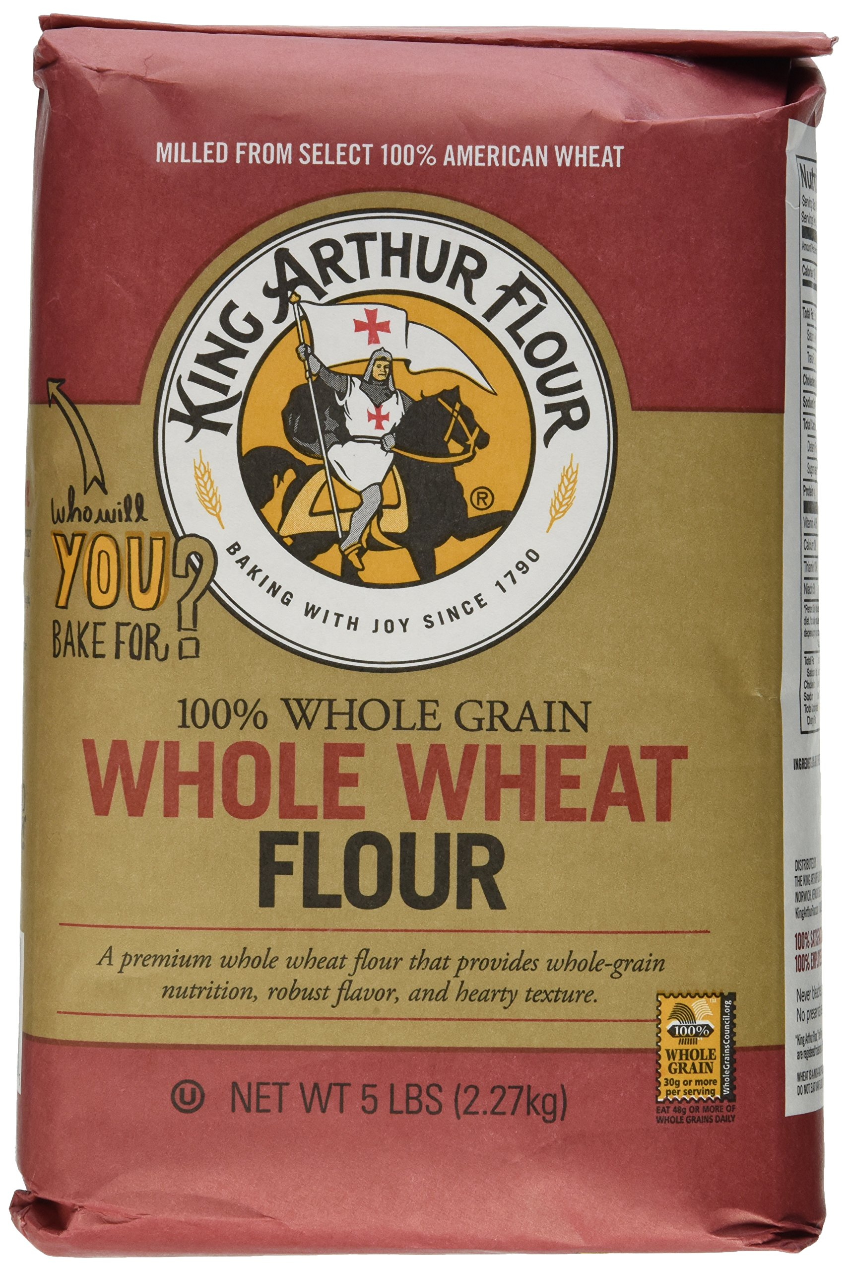 King Arthur Whole Wheat Flour - pack of 12 - 2