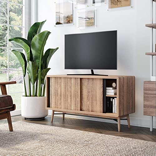 Nathan James Liam Modern Mid-Century TV Stand